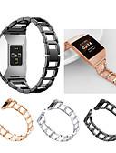 halpa Smartwatch-nauhat-Watch Band varten Fitbit ionic Fitbit Urheiluhihna / Korudesign Ruostumaton teräs Rannehihna