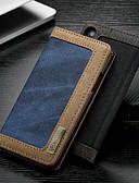 povoljno Maske za mobitele-Θήκη Za Apple iPhone XS / iPhone X Novčanik / Utor za kartice / sa stalkom Korice Jednobojni Tvrdo Tekstil