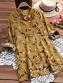 billige Skjorter til damer-Skjorte Dame - Geometrisk Grunnleggende