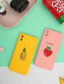 halpa iPhone kotelot-Etui Käyttötarkoitus Apple iPhone XS Max Ultraohut / Himmeä / Kuvio Takakuori Hedelmä Kova PC
