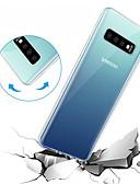 preiswerte Handyhüllen-Hülle Für Samsung Galaxy Galaxy S10 / Galaxy S10 E Transparent Rückseite Solide Weich TPU für S9 / S9 Plus / S8 Plus