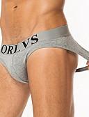 preiswerte Exotische Herrenunterwäsche-Herrn Druck Slip Mittlere Taillenlinie