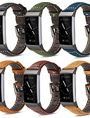 halpa Smartwatch-nauhat-Watch Band varten Fitbit Charge 3 Fitbit Moderni solki Aito nahka Rannehihna