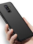 Недорогие Чехлы для телефонов-Кейс для Назначение SSamsung Galaxy A6 (2018) / A6+ (2018) / A8 2018 Ультратонкий / Матовое Кейс на заднюю панель Однотонный Твердый ПК