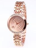 halpa Kvartsikellot-Naisten Luksus kellot Quartz Ylellisyys Hopea Kulta  Ruusukulta Ruostumaton teräs Kiina Quartz Kulta Hopea Ruusukulta Vedenkestävä Uusi malli Ihana 30 m 1 kpl Analoginen / jäljitelmä Diamond