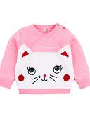 povoljno Majice s kapuljačama i trenirke za bebe-Dijete Djevojčice Osnovni Color block Kolaž Dugih rukava Džemper i kardigan Plava / Dijete koje je tek prohodalo