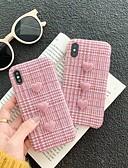hesapli Spor Saat-Pouzdro Uyumluluk Apple iPhone XS Max / iPhone 6 Yedekleme Arka Kapak Solid Sert Tekstil için iPhone XS / iPhone XR / iPhone XS Max
