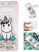 cheap Cellphone Case-Case For Samsung Galaxy Galaxy S10 Plus / Galaxy S10 E Flowing Liquid / Pattern / Glitter Shine Back Cover Unicorn / Glitter Shine Soft TPU for S9 / S9 Plus / S8 Plus