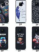 זול מגנים לטלפון-מגן עבור Huawei Huawei Mate 20 lite / Huawei Mate 20 pro / Huawei Mate 20 תבנית כיסוי אחורי נוף / חיה רך TPU