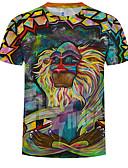 billige T-shirts og undertrøjer til herrer-Rund hals Herre - 3D T-shirt