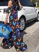 povoljno Ženski jednodijelni kostimi-Žene Crn Odjeća za igru, Color block M L XL