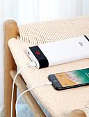 Недорогие Внешние аккумуляторы-aigo 20000 mAh Назначение Внешняя батарея Power Bank 5 V Назначение 2.1 A / 1 A Назначение Зарядное устройство с кабелем LCD