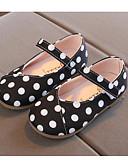 billige Sett med pikeklær-Jente Bomull Flate sko Spedbarn (0-9m) / Toddler (9m-4ys) / Små barn (4-7år) Komfort / Første gåsko Hvit / Svart / Gul Vår