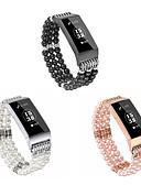 voordelige Smartwatch-banden-Horlogeband voor Fitbit Charge 3 Fitbit Sieradenontwerp Keramiek Polsband