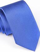 abordables Corbatas y Pajaritas para Hombre-Hombre Corbata - Fiesta / Trabajo / Básico Estampado / Jacquard
