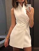 رخيصةأون فساتين للنساء-فستان نسائي ثوب ضيق أساسي قصير جداً لون سادة