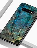 halpa Puhelimen kuoret-Etui Käyttötarkoitus Samsung Galaxy S9 / S9 Plus / S8 Plus Iskunkestävä / Kuvio Takakuori Marble Kova TPU / Karkaistu lasi