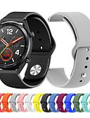 זול להקות Smartwatch-צפו בנד ל Huawei שעונים GT / Watch 2 Pro Huawei רצועת ספורט סיליקוןריצה רצועת יד לספורט