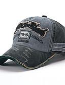 رخيصةأون قبعات الرجال-كل الفصول أزرق البحرية رمادي نبيذ قبعة البيسبول لون سادة للجنسين قطن,أساسي