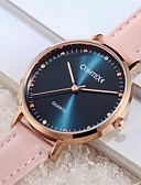 cheap Dresses For Date-COMTEX Women's Quartz Watches Fashion Pink Genuine Leather Quartz Blue Water Resistant / Waterproof 1 pc Analog