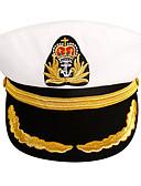 Χαμηλού Κόστους Men's Belt-Γιούνισεξ Μονόχρωμο Ενεργό Ακρυλικό Δέρμα Στρατιωτικό Καπέλο Όλες οι εποχές Λευκό Μαύρο