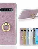 hesapli Cep Telefonu Kılıfları-Pouzdro Uyumluluk Samsung Galaxy S9 / S9 Plus / S8 Plus Şoka Dayanıklı / Yüzüklü Tutacak / Ultra İnce Arka Kapak Işıltılı Parlak Yumuşak TPU