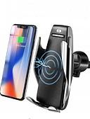 povoljno Stalci i držači za mobitel-automatsko stezanje bežičnog auto punjača brzi nosač za iphone samsung