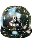 olcso Férfi kalapok, sapkák-Uniszex Galaxis Vászon,Alap-Baseball sapka Lóhere Fekete Rubin