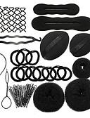 זול שמלות ערב-Mix רצועות / כלי שיער / מקל שיער עם שרוכים 1pack לבוש יומיומי כיסוי ראש