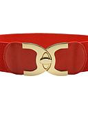 cheap Women's Belt-Women's Vintage / Party / Work Skinny Belt - Solid Colored