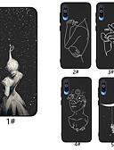 זול מגנים לטלפון-מגן עבור Samsung Galaxy A6 (2018) / A6+ (2018) / Galaxy A7(2018) תבנית כיסוי אחורי שמיים רך TPU