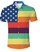 זול חולצות פולו לגברים-קשת צווארון חולצה Polo - בגדי ריקוד גברים קשת