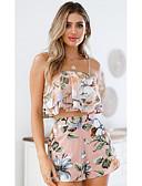 ieftine Salopete Damă-Pentru femei Tank Tops - Floral, Pantaloni