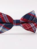 זול עניבות ועניבות פרפר לגברים-עניבת פפיון - פסים / דפוס מסיבה / עבודה / בסיסי בגדי ריקוד גברים