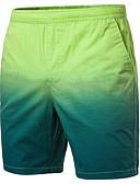 hesapli Erkek Pantolonları ve Şortları-Erkek Temel Chinos / Şortlar Pantolon - Çok Renkli Sarı Açık Yeşil Açık Mavi XXL XXXL XXXXL