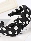 זול לבוש ראש לנשים-בגדי ריקוד נשים בסיסי סגנון חמוד בד יום יומי\קז'ואל - מנוקד / כותנה