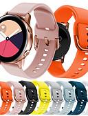 זול להקות Smartwatch-צפו בנד ל Gear S2 / Samsung Galaxy Watch 42 / Samsung Galaxy פעיל Samsung Galaxy רצועת ספורט סיליקוןריצה רצועת יד לספורט