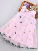 זול שמלות לבנות-שמלה מידי ללא שרוולים רשת צמחים סגנון חמוד בנות ילדים