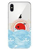 זול מגנים לאייפון-מארז iPhone xr / iPhone xs מקס דפוס חזרה לכסות נוף רך tpu עבור x x x 8 x 8 8 7 7plus 6 6plus 6s 6s פלוס