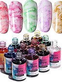 povoljno Haljine za NG-Lak za nokte UV gel 1 pcs Stilski / Elegantno Soak off dugotrajnim Dnevni Nosite / Festival Stilski / Elegantno Modni dizajn / Šarene