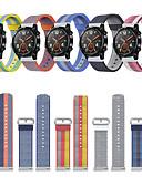 זול להקות Smartwatch-צפו בנד ל Huawei Watch 2 Huawei רצועת ספורט בד / ניילון רצועת יד לספורט