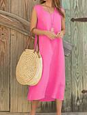 Недорогие Вечерние платья-Жен. Классический Оболочка Платье - Однотонный Средней длины