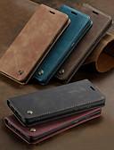 halpa Puhelimen kuoret-Etui Käyttötarkoitus OnePlus One Plus 7 / One Plus 7 Pro Korttikotelo / Tuella / Flip Suojakuori Yhtenäinen Kova PU-nahka
