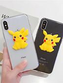 זול מגנים לאייפון-מארז iPhone xr / iPhone xs מקס דפוס / שקוף חזרה כיסוי חיה / קריקטורה רך tpu עבור x x x 8 x 8 x 7 x 6 6 plus 6s 6s 6s plus