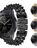 זול להקות Smartwatch-צפו בנד ל Gear S3 Classic Samsung Galaxy אבזם קלאסי מתכת רצועת יד לספורט