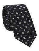 זול עניבות ועניבות פרפר לגברים-עניבת צווארון - גיאומטרי / דפוס מסיבה / פעיל בגדי ריקוד גברים