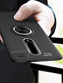 זול מגנים לטלפון-מגן עבור OnePlus אחת פלוס 7 / אחד פלוס 7 Pro מחזיק טבעת כיסוי אחורי אחיד רך TPU