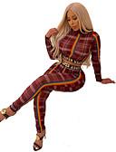 hesapli Kadın Elbiseleri-Kadın's Temel / Boho Set - Kırk Yama / Desen, Geometrik Pantolon