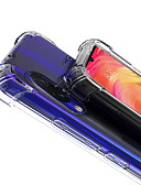זול מגנים לטלפון-מגן עבור Xiaomi Xiaomi Redmi Note 7 עמיד בזעזועים / שקוף כיסוי אחורי שקוף רך TPU