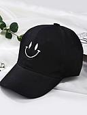זול סטים של ביגוד לבנות-מידה אחת אודם / ורוד מסמיק / צהוב כובעים ומצחיות כותנה מסוגנן / רקום אחיד וינטאג' / פעיל / בסיסי בנים / בנות ילדים / פעוטות